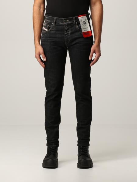 Jeans a 5 tasche Diesel in denim stretch