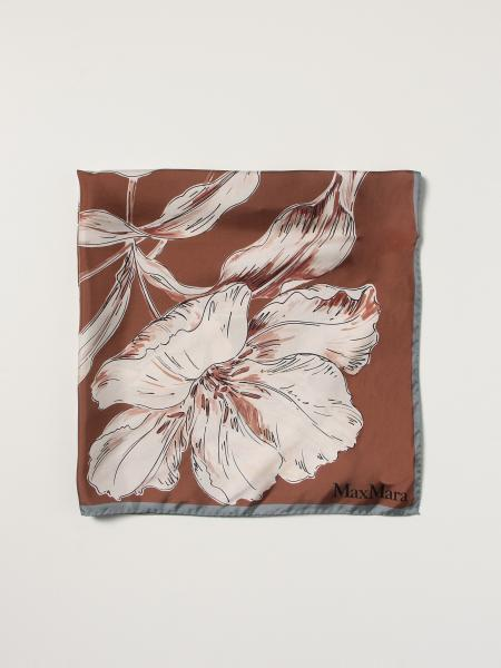 Max Mara floral patterned scarf