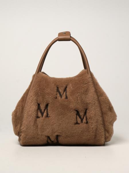 Max Mara: Borsa Max Mara in lana cameluxe