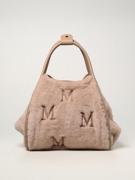 Max Mara: Borsa Marine M Max Mara in lana