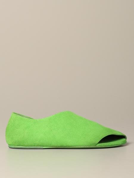 Marsèll open suede slipper