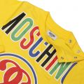 T-shirt MOSCHINO BABY Yellow - 4 | MOSCHINO MTMU39 E026T - Giglio Fashion Store