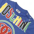 T-shirt MOSCHINO BABY Royal blue - 6 | MOSCHINO MTMU39 E026T - Giglio Fashion Store