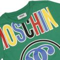 T-shirt MOSCHINO KID Green - 2 | MOSCHINO HZM018 E048L - Giglio Fashion Store