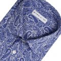 Shirt ETRO Gnawed blue - 2 | ETRO 12908 6551 - Giglio Boutique Online