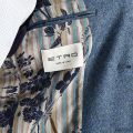 Blazer ETRO Gnawed blue - 4 | ETRO 1187Q 109 - Giglio Fashion Store