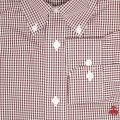 Camicia BROOKS BROTHERS Vino - 2 | BROOKS BROTHERS 74053 - Giglio Moda Online