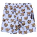 Short MOSCHINO BABY Gnawed blue - 4 | MOSCHINO MWP024 LMB00 - Giglio Fashion Store