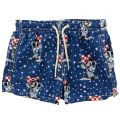 Short MC2 SAINT BARTH Blue - 1 | MC2 SAINT BARTH JEAN LIGHTING MICKEY SPACE JOU - Giglio Boutique Online