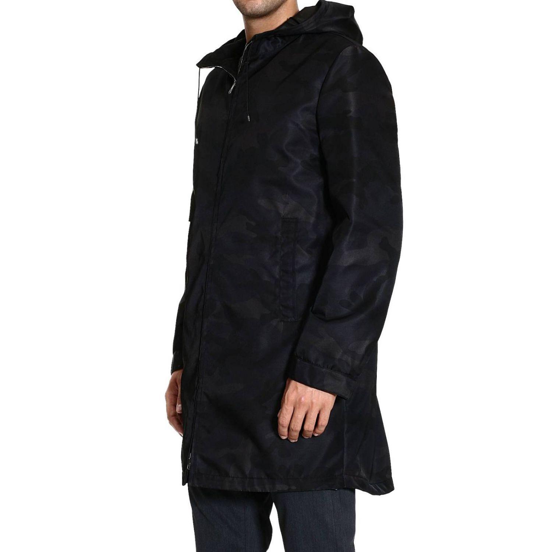 Coat Valentino: TRENCH NYLON CAMOUFLAGE black 2