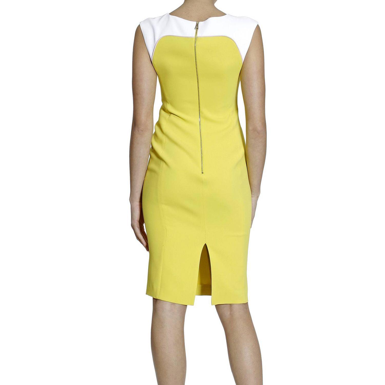 Платье Fay: SLEEVELESS CADY BICOLOR желтый 1