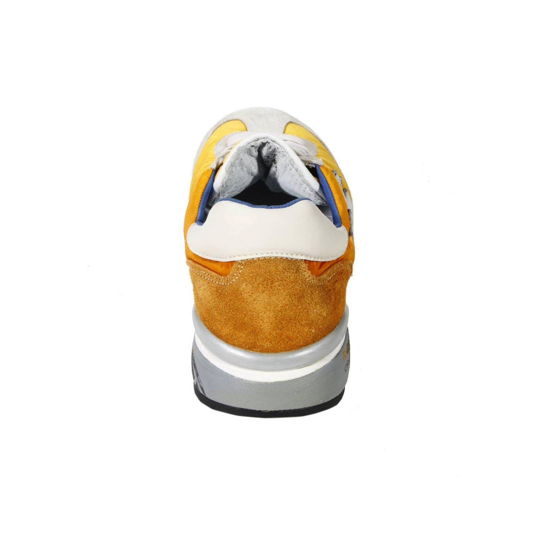 Sneakers Premiata: SNEAKERS CAM+TELA BICOLOR F.RIALZATO giallo 1