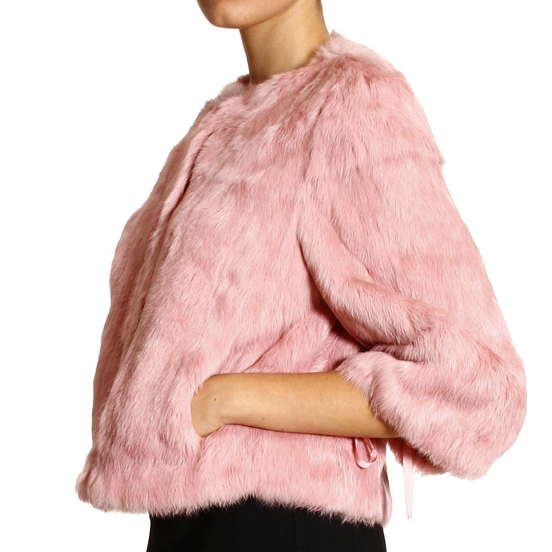 Pelliccia Red Valentino: LAPIN rosa 2