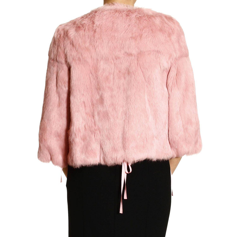 Pelliccia Red Valentino: LAPIN rosa 3