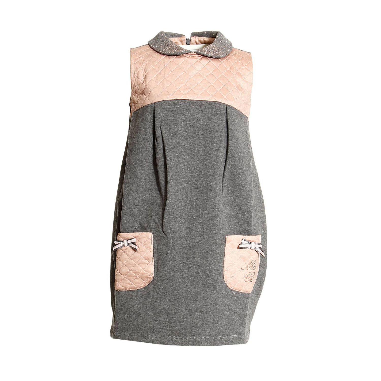 Miss Blumarine Jeans Outlet Kleid Miss Blumarine Jeans Kinder Grau Kleid Miss Blumarine Jeans Ab23 Giglio De