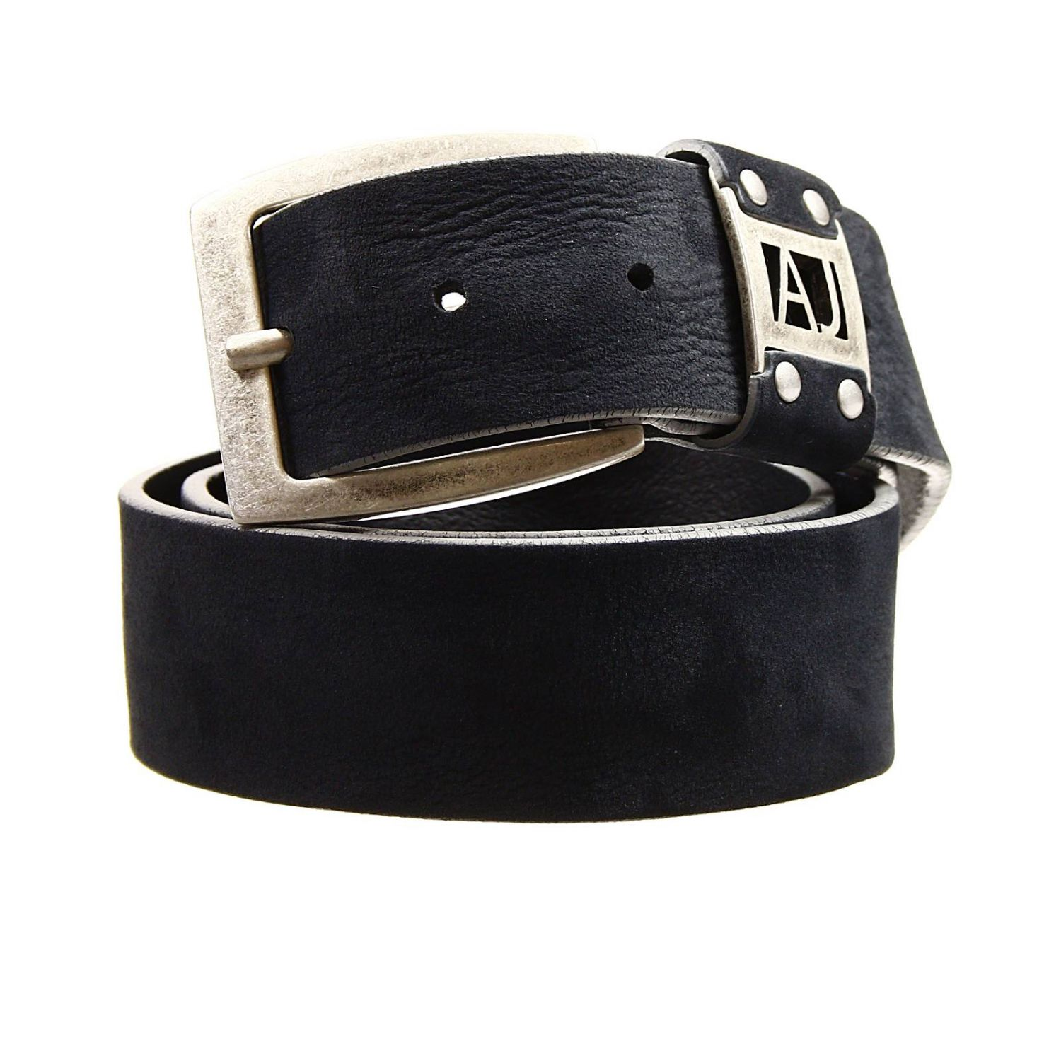 belt buckle classic logo crosta blue 1