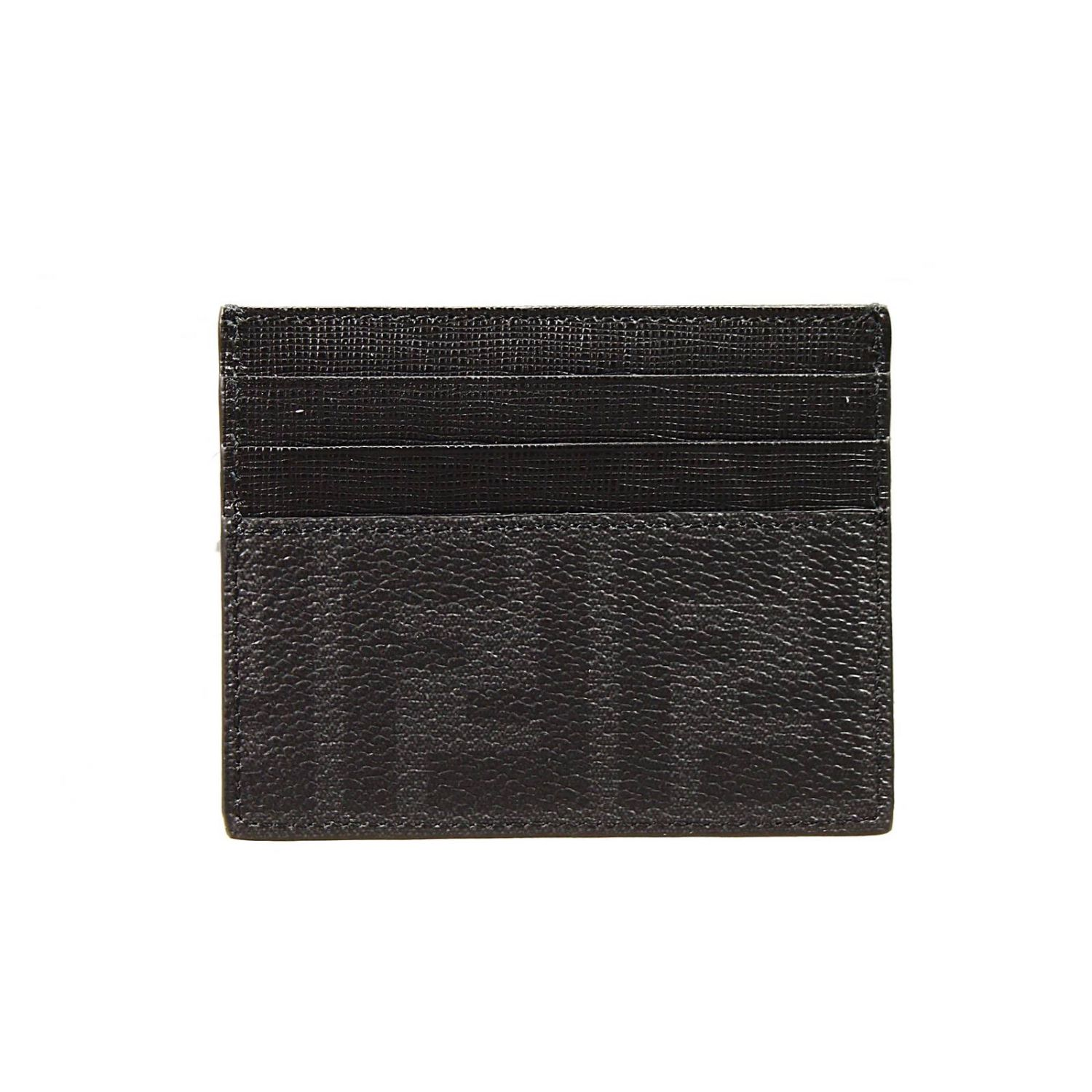wallet zucca pu porta card di credit card holder black 1