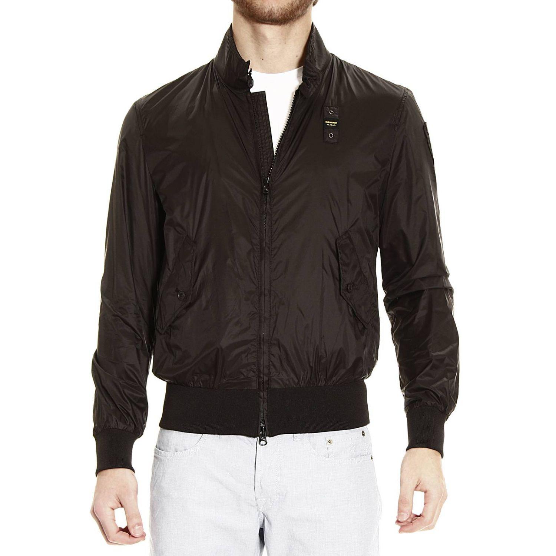 bomber jacket light nylon black 1