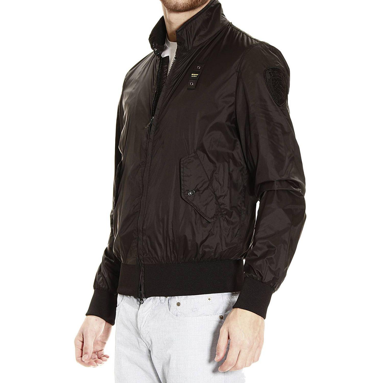 bomber jacket light nylon black 2