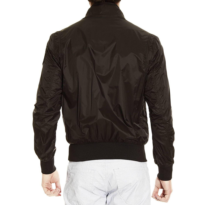 bomber jacket light nylon black 3