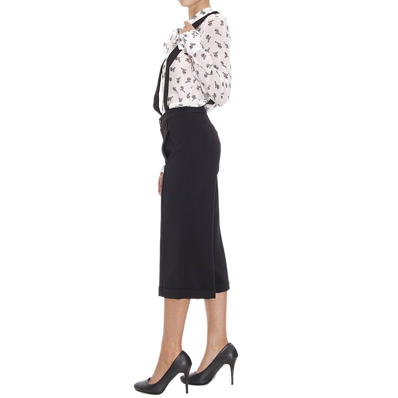 Hose Manila Grace Denim: Hosen Damen Manila grace denim schwarz 2