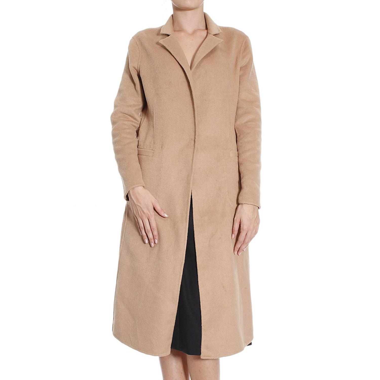 Coat Pinko: Coat Pinko Women beige 1