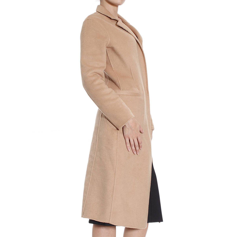 Coat Pinko: Coat Pinko Women beige 2