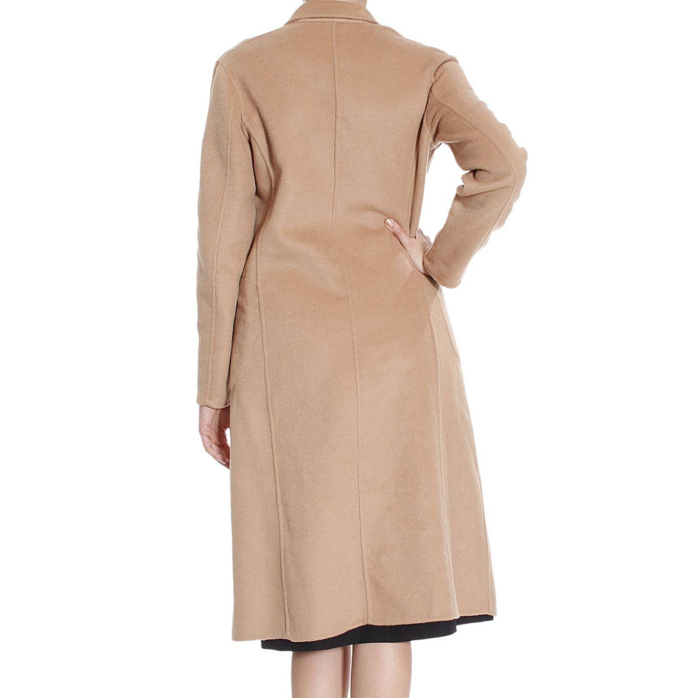 Coat Pinko: Coat Pinko Women beige 3
