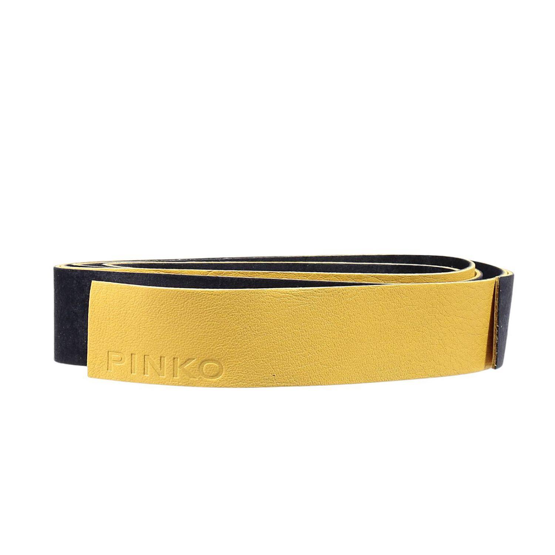 Cintura Pinko: Cintura Pinko Donna giallo 1