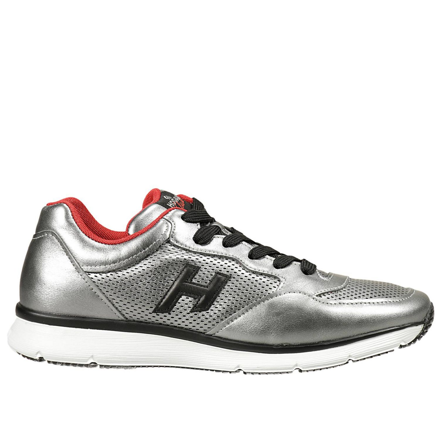 Sneakers Hogan Club Men Silver Sneakers Hogan Club Gym2540v960 9jy Giglio En