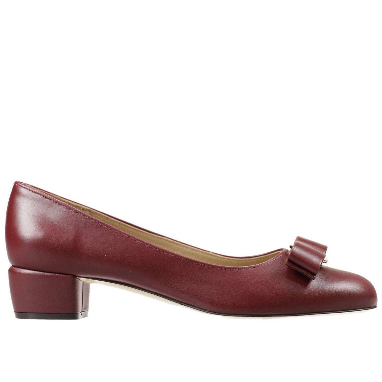 salvatore ferragamo burgundy shoes