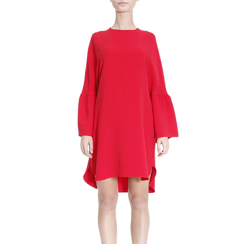 Kleid damen Valentino | Kleid Valentino Damen Rot | Kleid ...