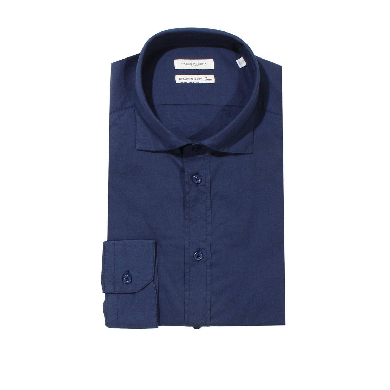 衬衫 Paolo Pecora: 衬衫 男士 Paolo Pecora 蓝色 1