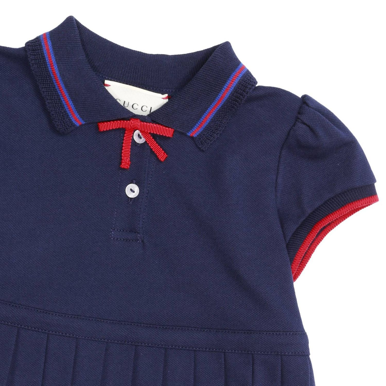 Robe enfant Gucci bleu 2