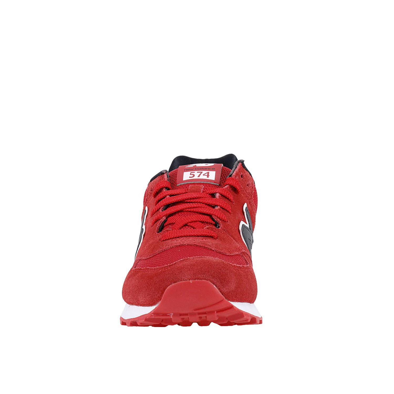 new balance 574 reflective uomo rosso ml574cnd classics