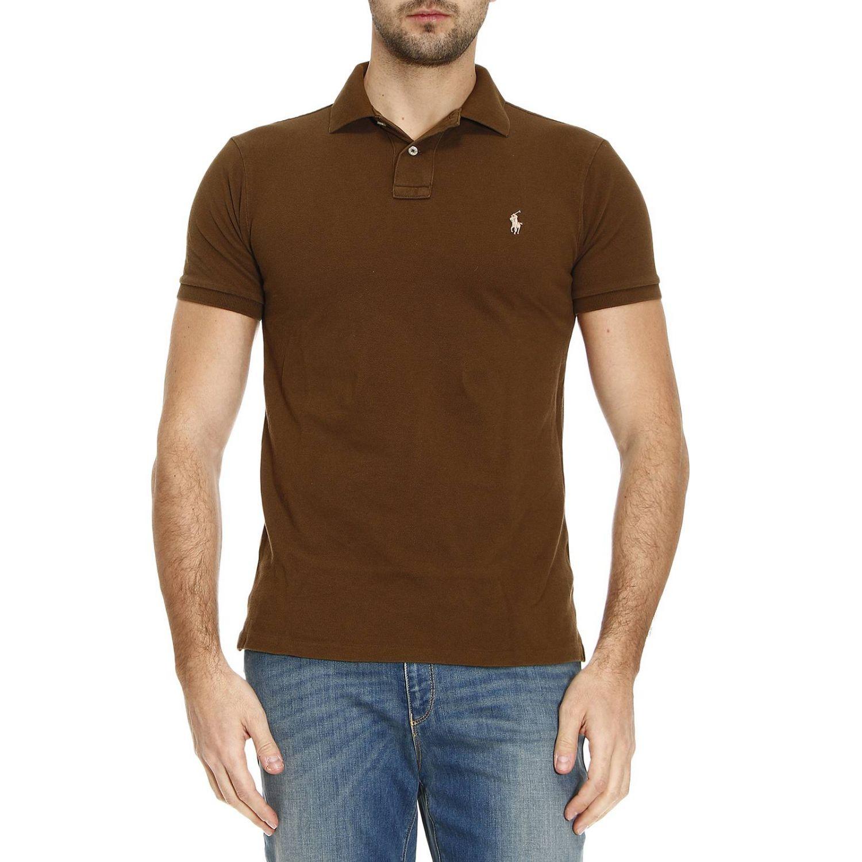 ralph lauren brown t shirt