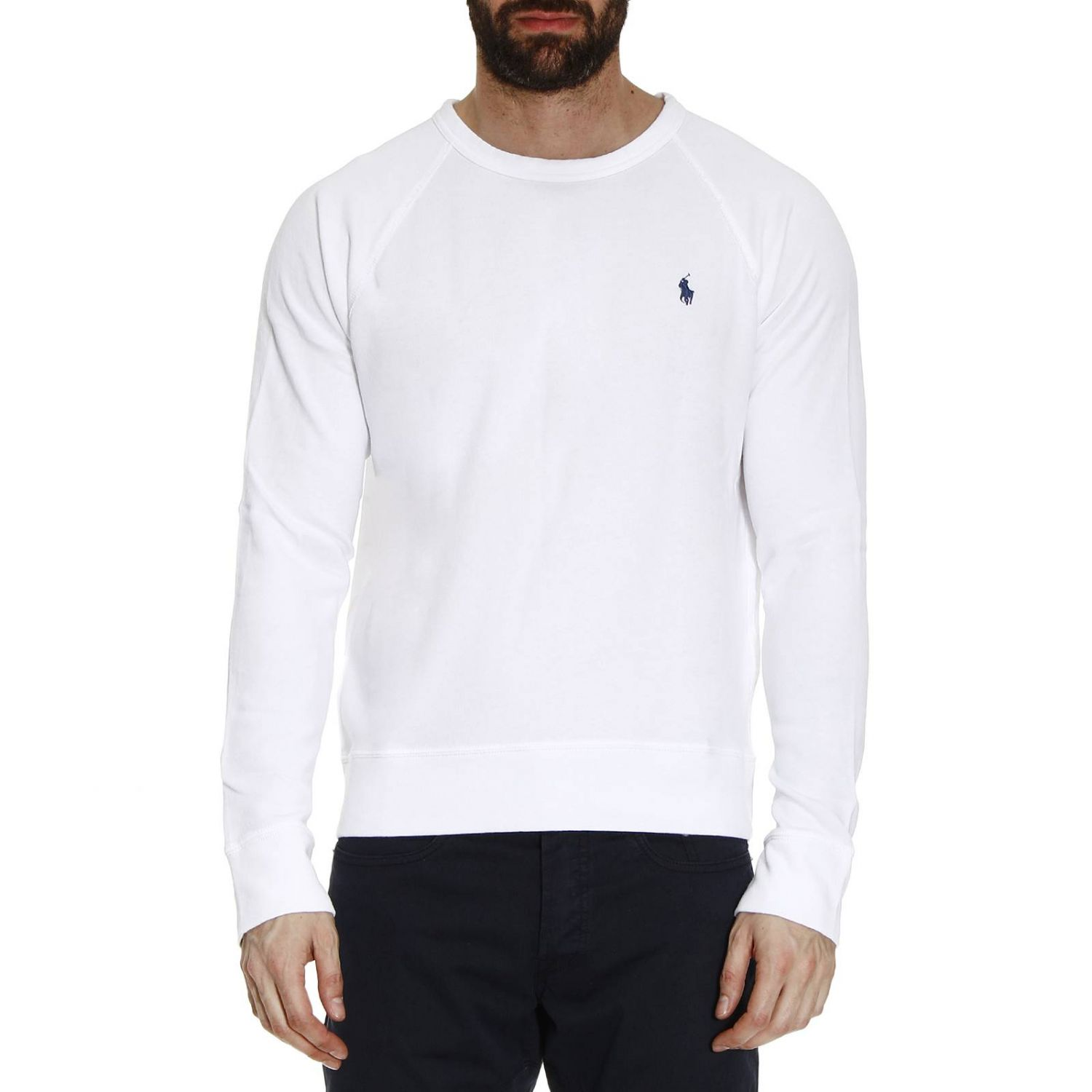 pulle homme blanc ralph