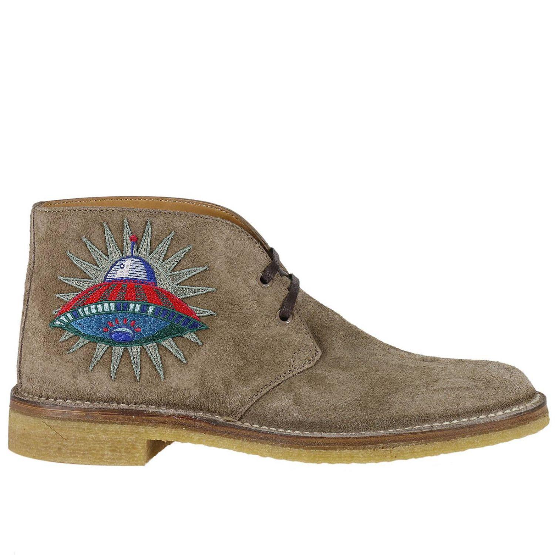 Chukka Boots Gucci Men Beige