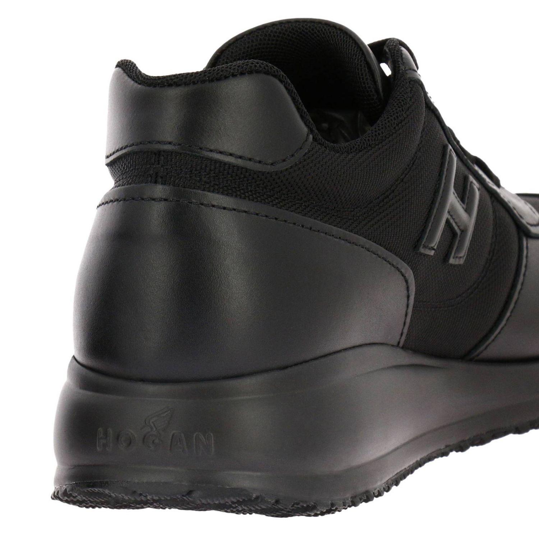 Sneaker Interactive N20 in pelle e rete con H in 3D