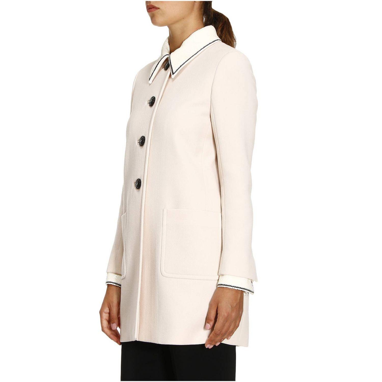 Coat women Miu Miu blush pink 2