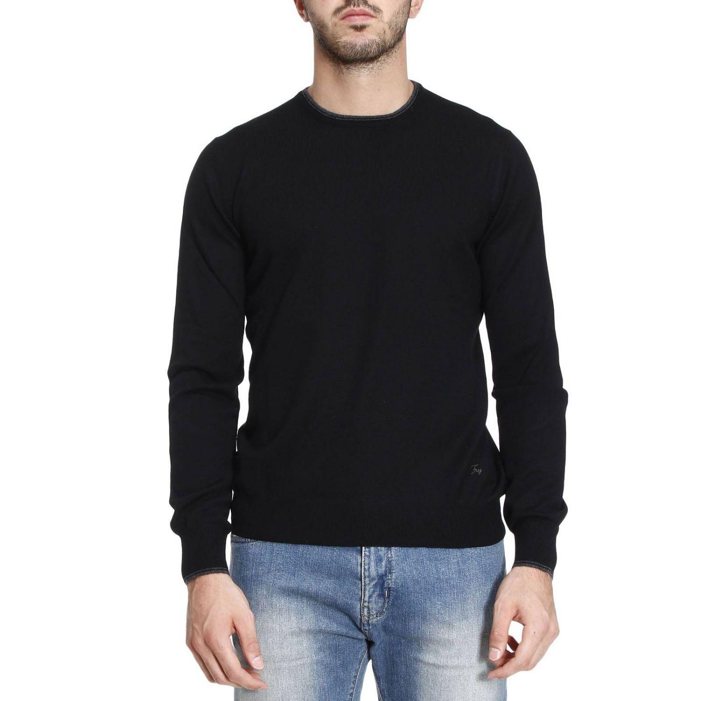Pullover herren Fay schwarz 1