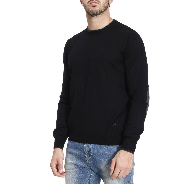 Pullover herren Fay schwarz 2