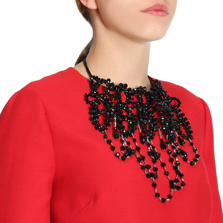 Gioielli Night Market: Collana Deco a girocollo con micro perline nero 1