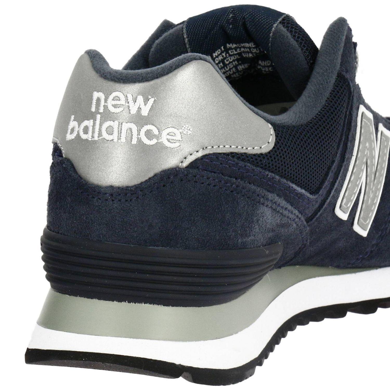 new balance m574nn uomo pelle