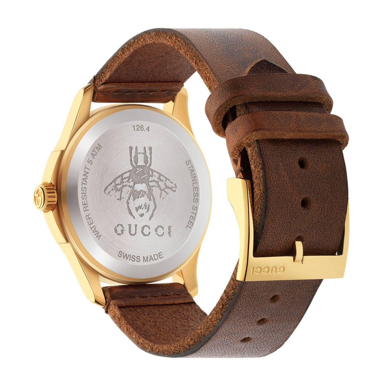 手表 Gucci: 手表 男士 Gucci 棕色 2