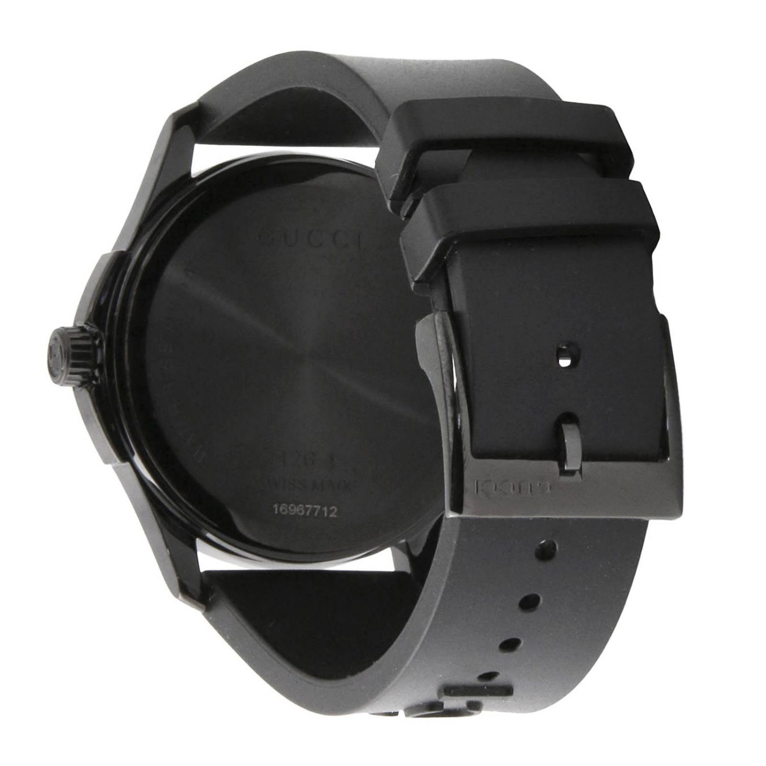 G-Timeless watch 38 mm case in PVD brushed black 2