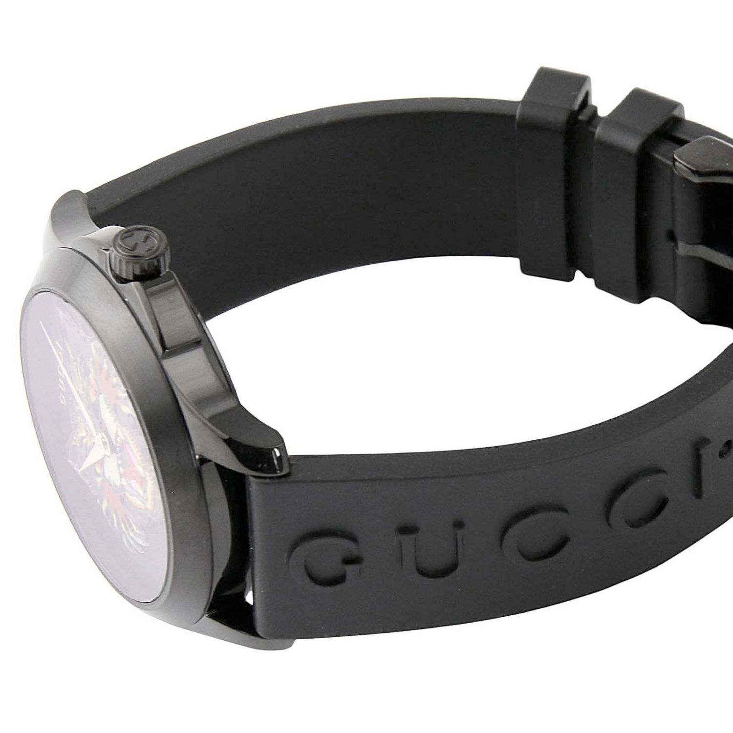 G-Timeless watch 38 mm case in PVD brushed black 3