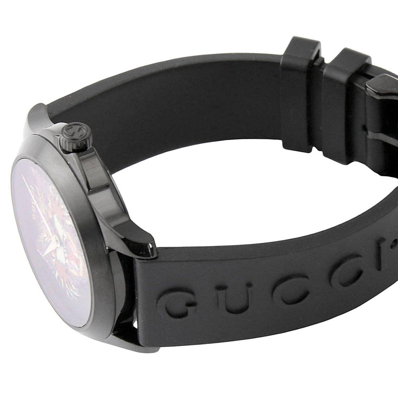 手表 Gucci: 手表 男士 Gucci 黑色 3