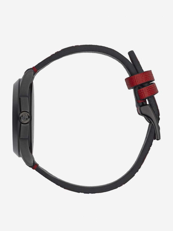 Uhr G-Timeless Uhrengehäuse 38mm aus PVD mit Monogramm und Ufo rot 3