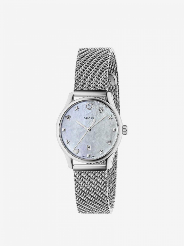 Watch Gucci: Watch men Gucci silver 1